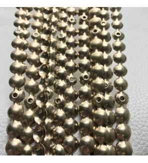 Гвоздевой молдинг (16 мм) матовое золото