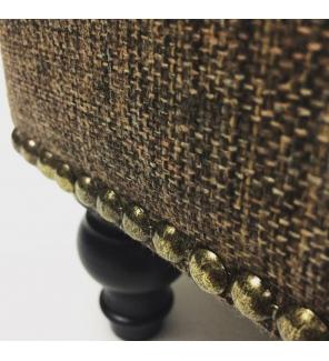 Декоративные гвозди, диаметр 11 мм, античное золото
