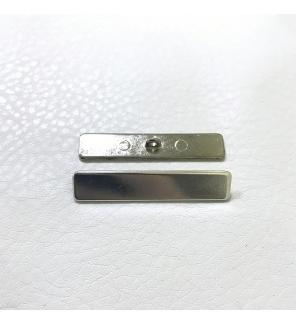 Мебельные пуговицы ED12970 A, металл, размер 50 мм*10 мм, никель