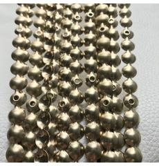 Гвоздевой молдинг (9,5 мм) матовое золото